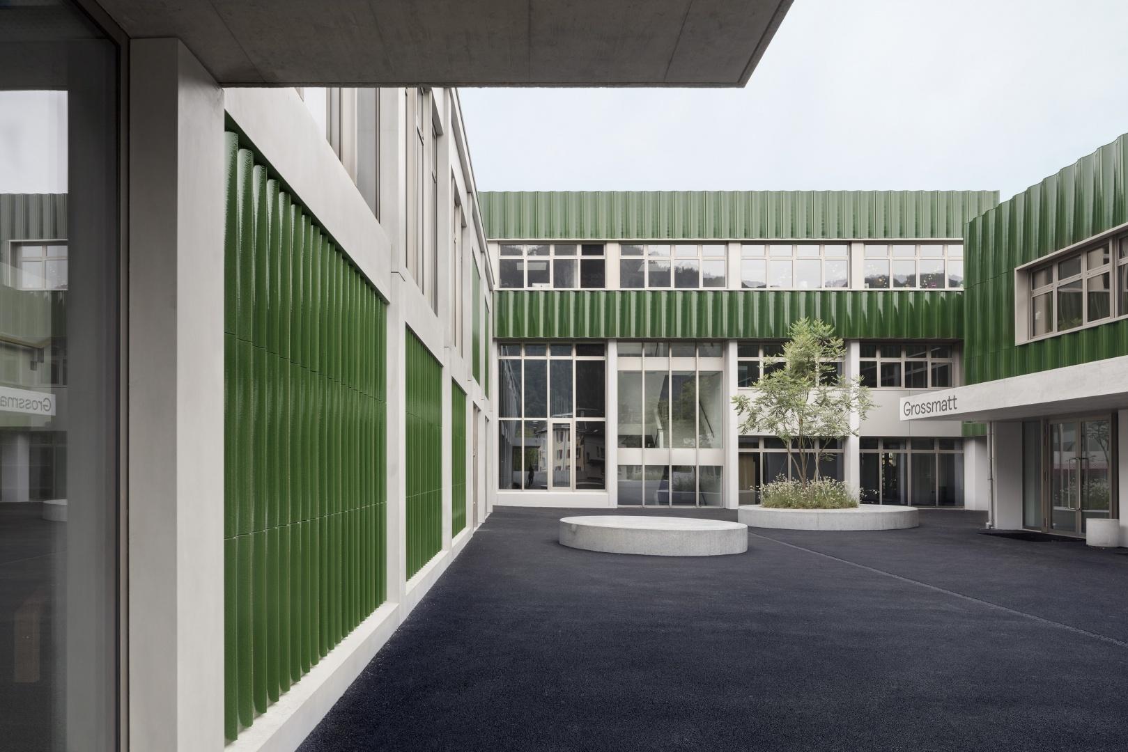 Neuer Pausenhof © Lucas Peter