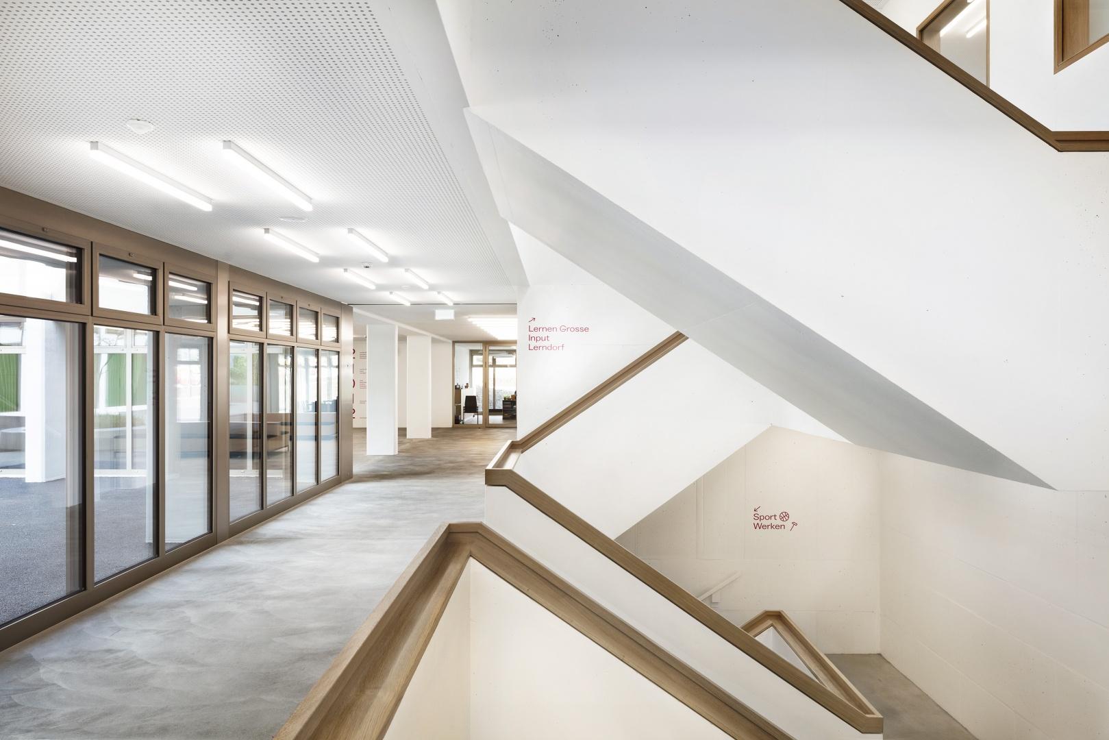 Neuer Treppenhauskern © Lucas Peter