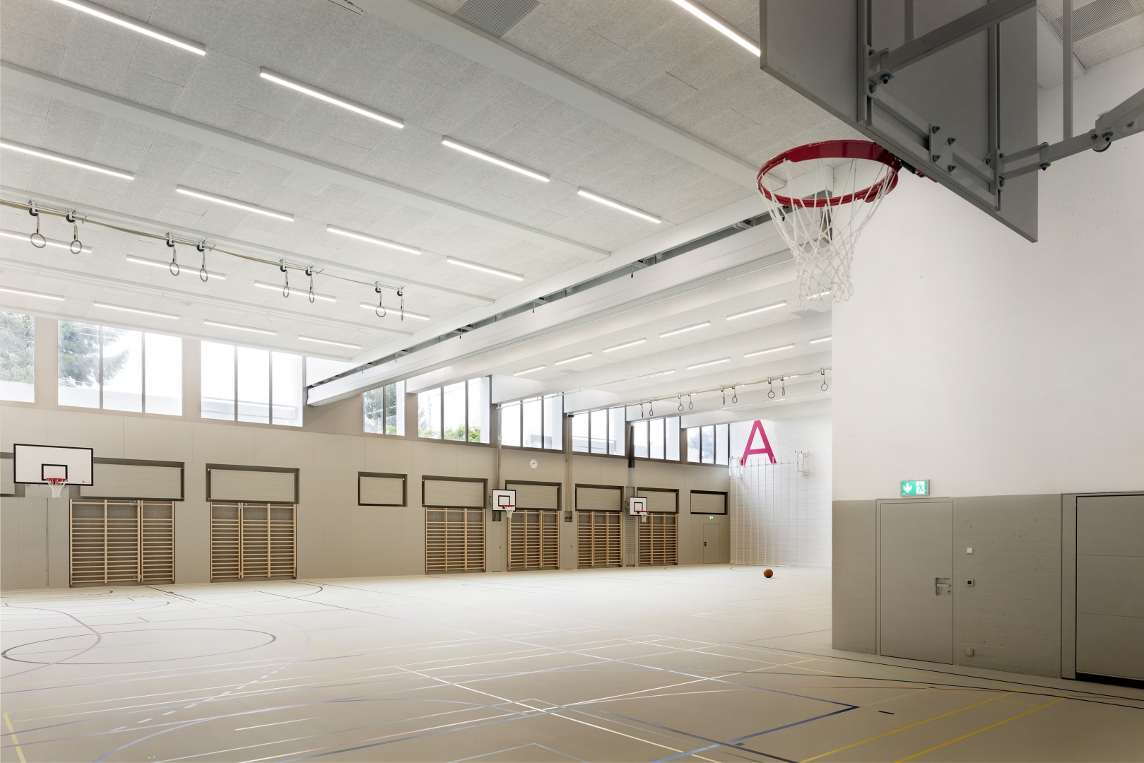Turnhalle © Lucas Peter
