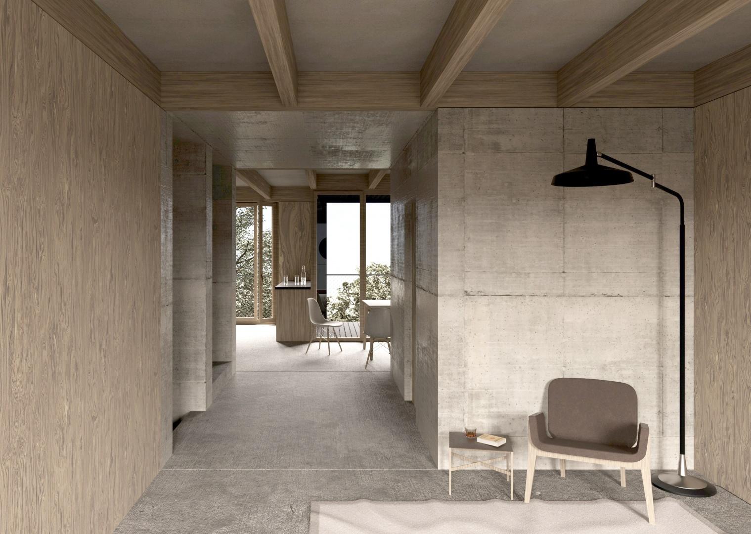 Duplexwohnung © Noah Andrea Ulrich