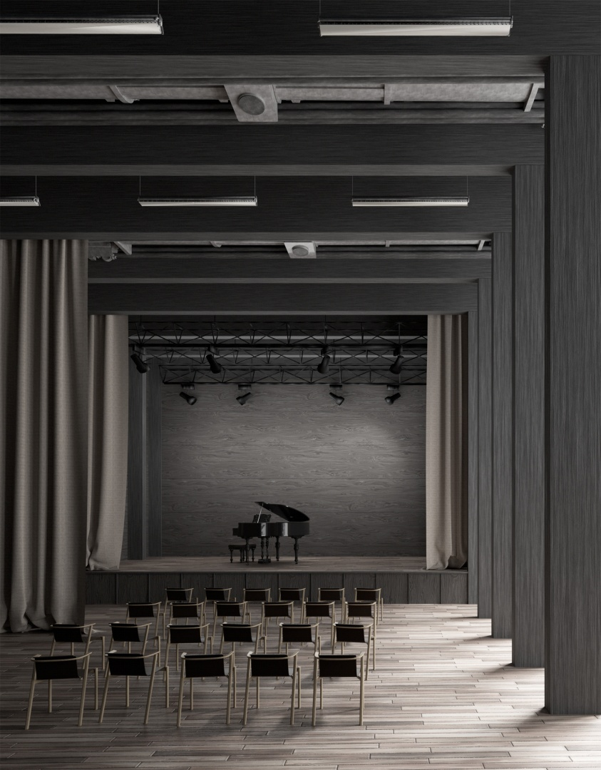 Innenraum Aufstockung Sommercasino © Noah Andrea Ulrich