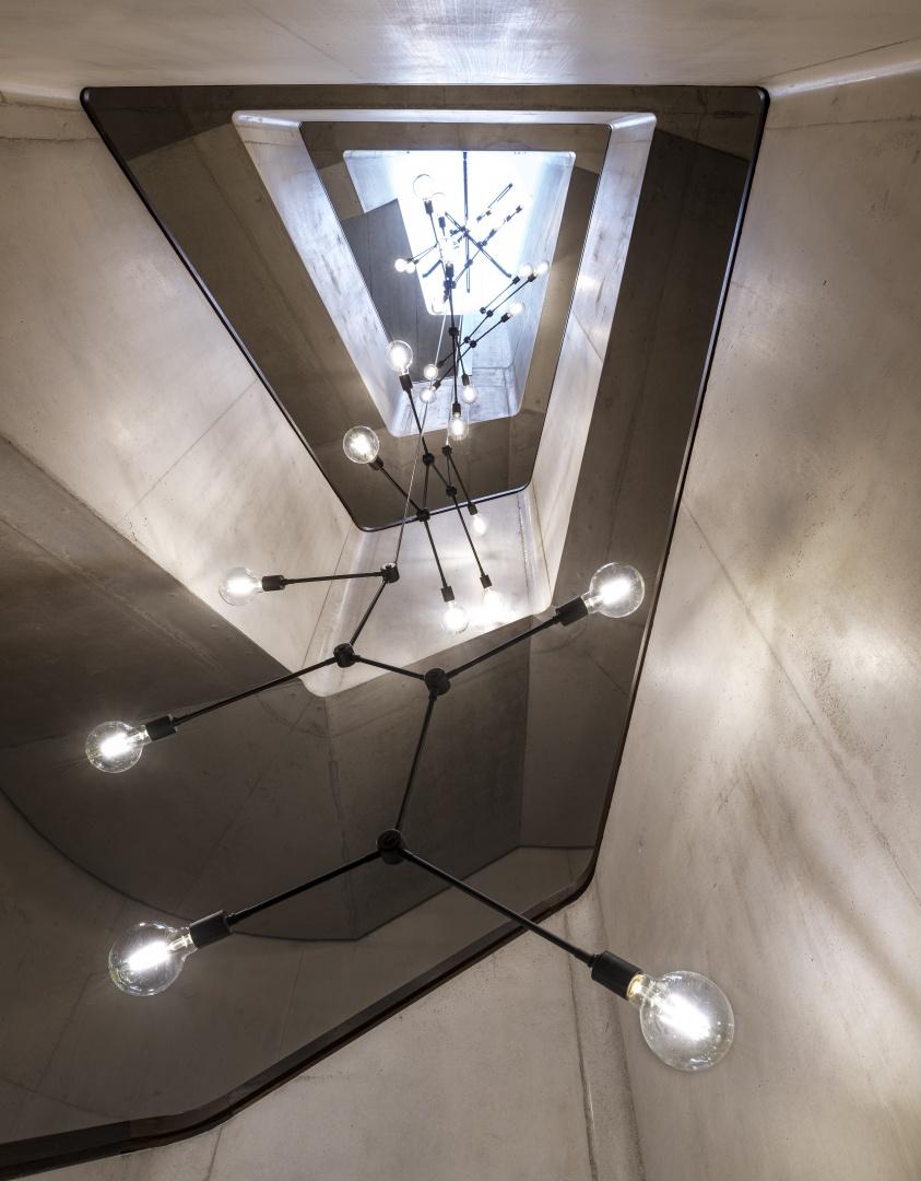 Beleuchtung Treppenhaus © Franz Roos
