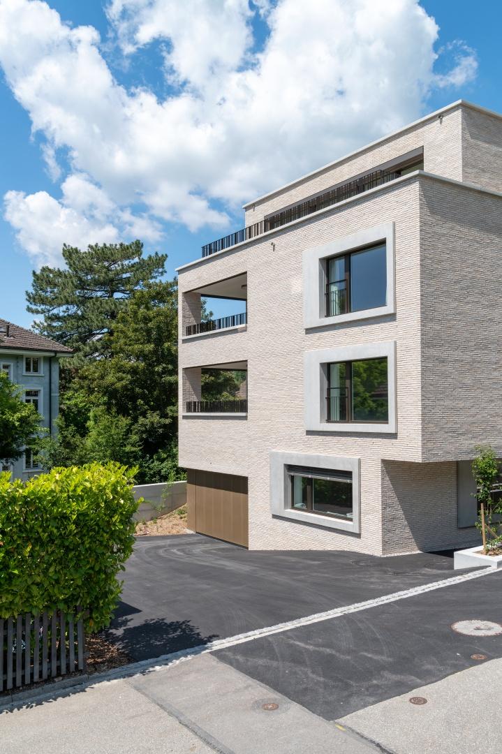 Ansicht Südwestfassade © René Rötheli • Atelier für Fotografie • CH - 5400 Baden