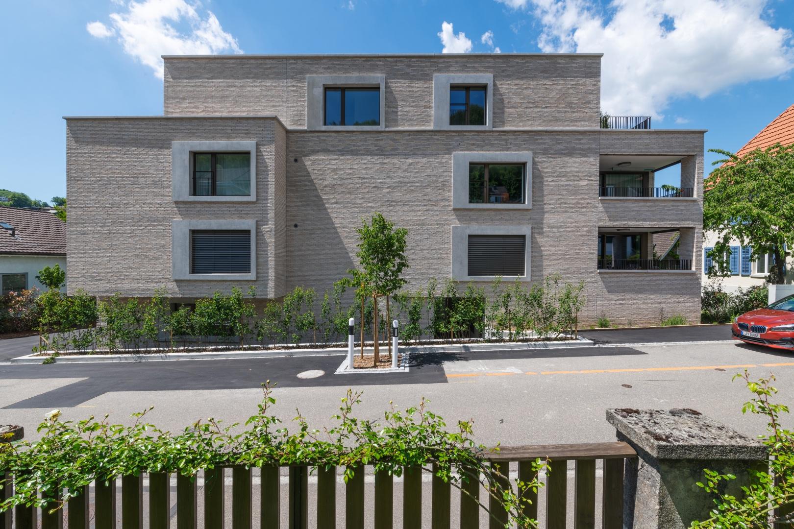 Ansicht von Südosten (Zugangsseite) © René Rötheli • Atelier für Fotografie • CH - 5400 Baden