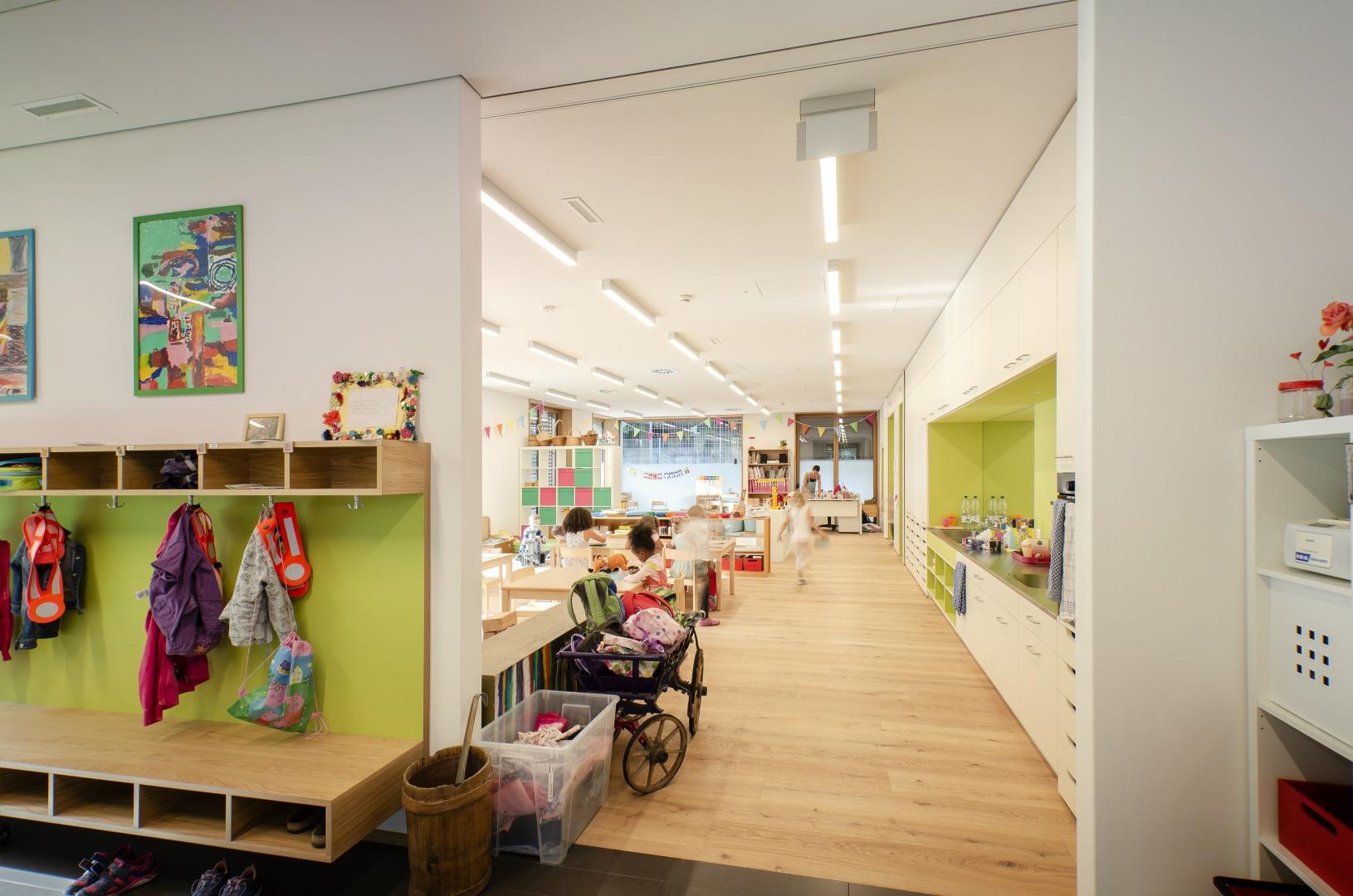 Kindergarten © Fanzun AG, Salvatorenstrasse 66, 7000 Chur