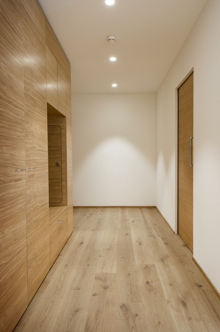 Korridor © Fanzun AG, Salvatorenstrasse 66, 7000 Chur