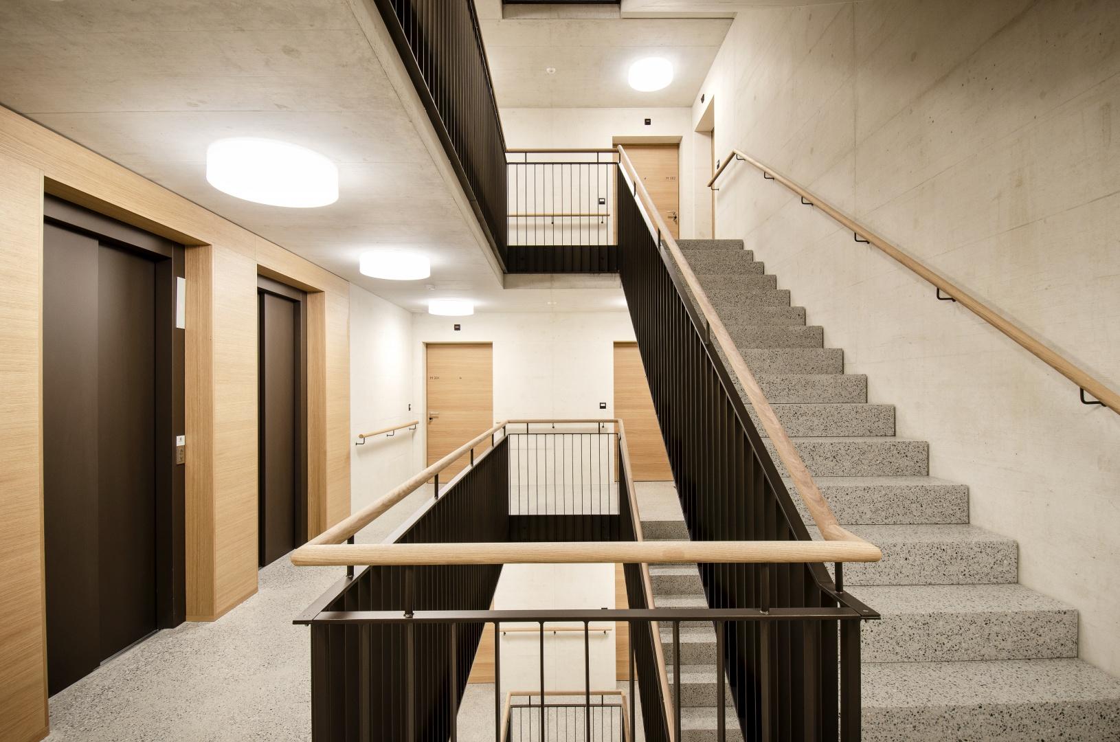 Treppenhaus © Fanzun AG, Salvatorenstrasse 66, 7000 Chur