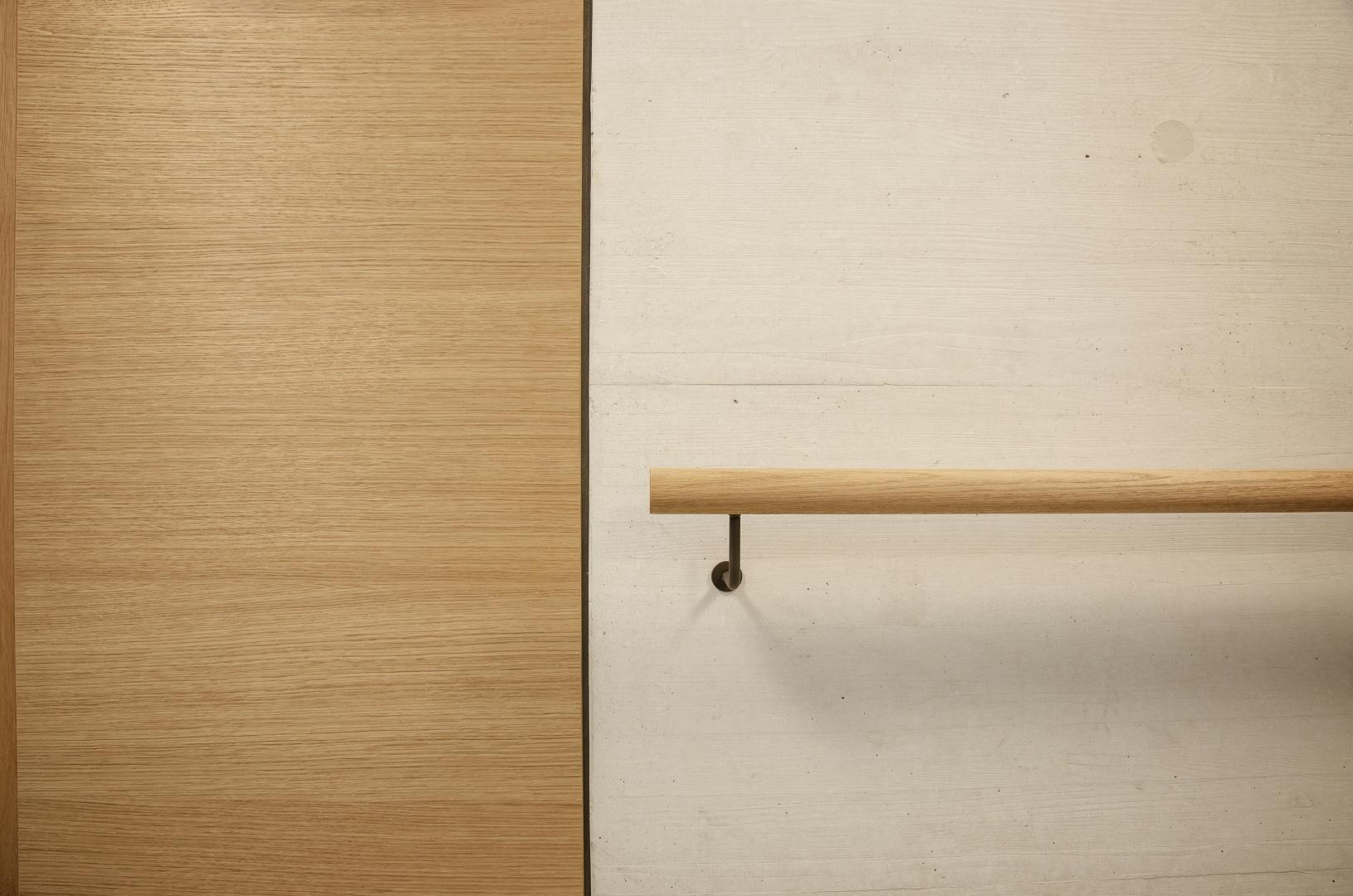 Treppenhaus - Eiche + Ammocret Beton © Fanzun AG, Salvatorenstrasse 66, 7000 Chur