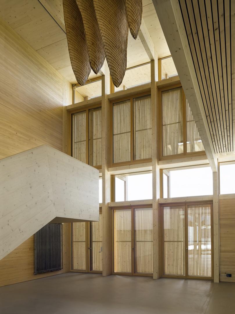 Foyer © Seraina Wirz, Atelier für Architekturfotografie, Böcklinstrasse 17 8032 Zürich