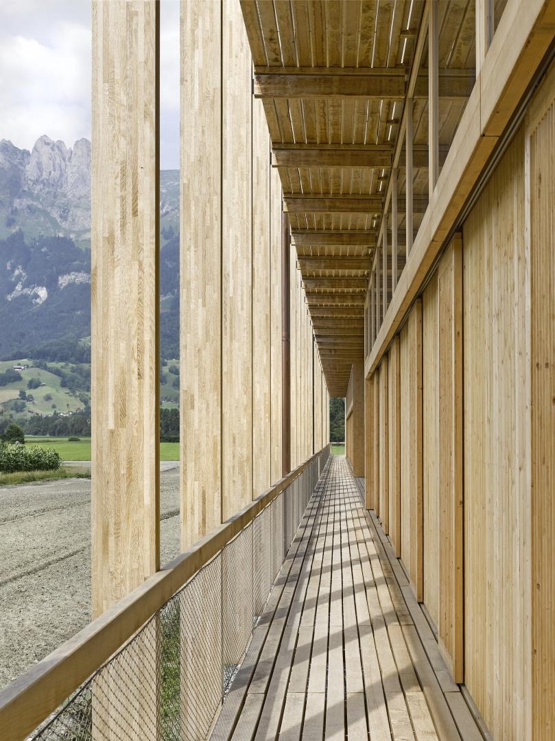 Laubenzone © Seraina Wirz, Atelier für Architekturfotografie, Böcklinstrasse 17 8032 Zürich