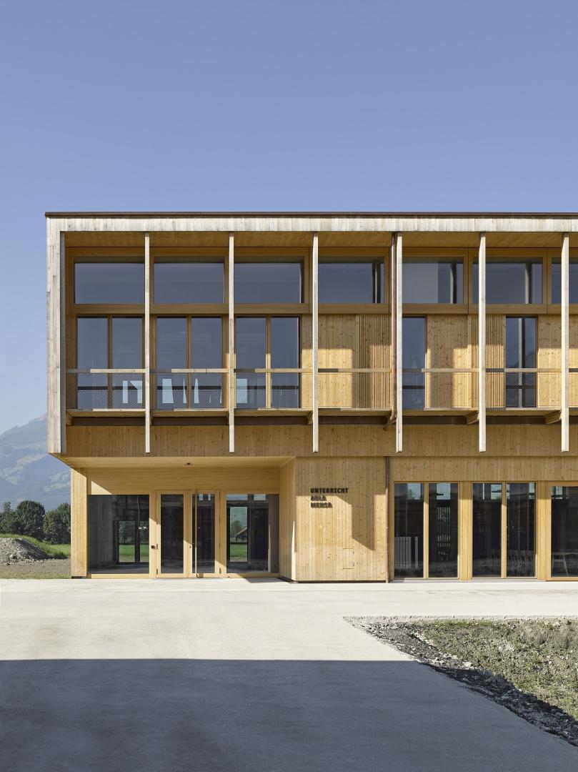 Zugang zum Gebäude © Seraina Wirz, Atelier für Architekturfotografie, Böcklinstrasse 17 8032 Zürich