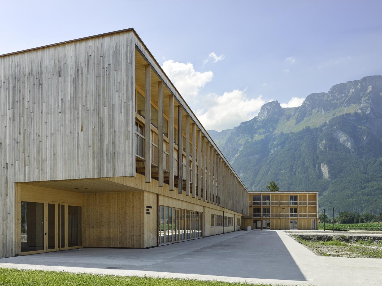 Haupteingang © Seraina Wirz, Atelier für Architekturfotografie, Böcklinstrasse 17 8032 Zürich