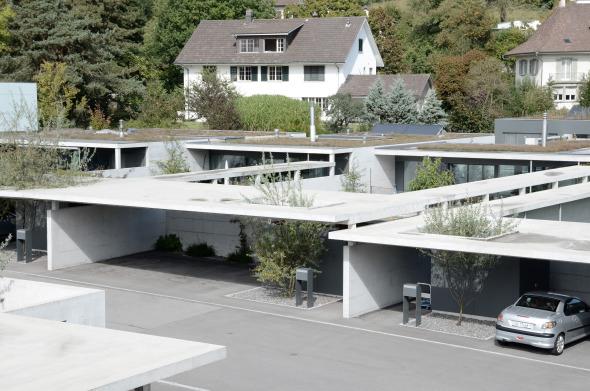 Dachaufsicht © guido kummer + partner architekten