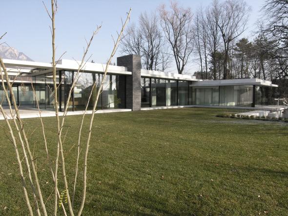 Haus Südansicht © guido kummer + partner architekten