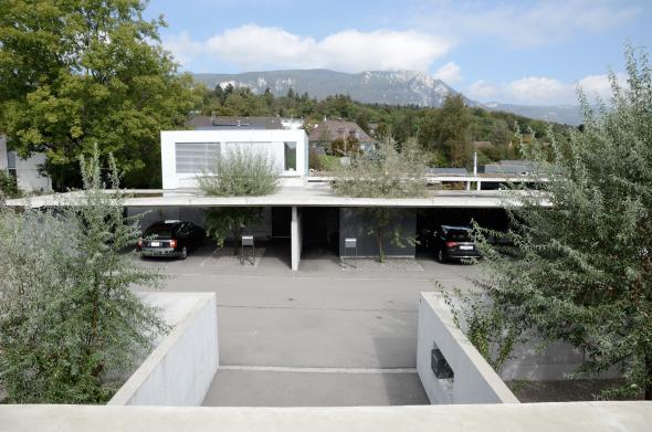 Blick über den Strassenraum © guido kummer + partner architekten