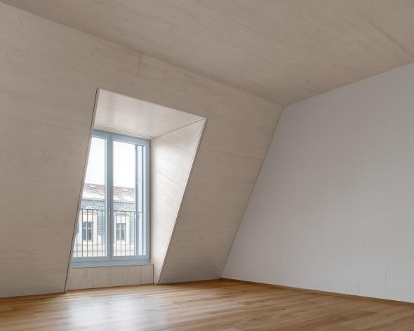 Aufstockung Loftwohnung © sim architekten gmbh