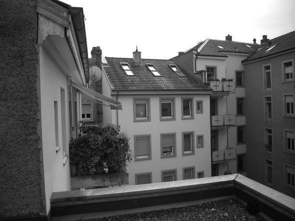 Ungenutztes Flachdach - Bestand © sim architekten gmbh