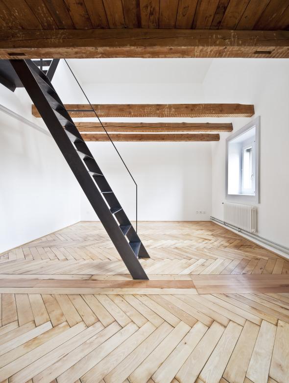 um und ausbau dach und estrichgeschoss mattenstrasse biel schweizer baudokumentation. Black Bedroom Furniture Sets. Home Design Ideas