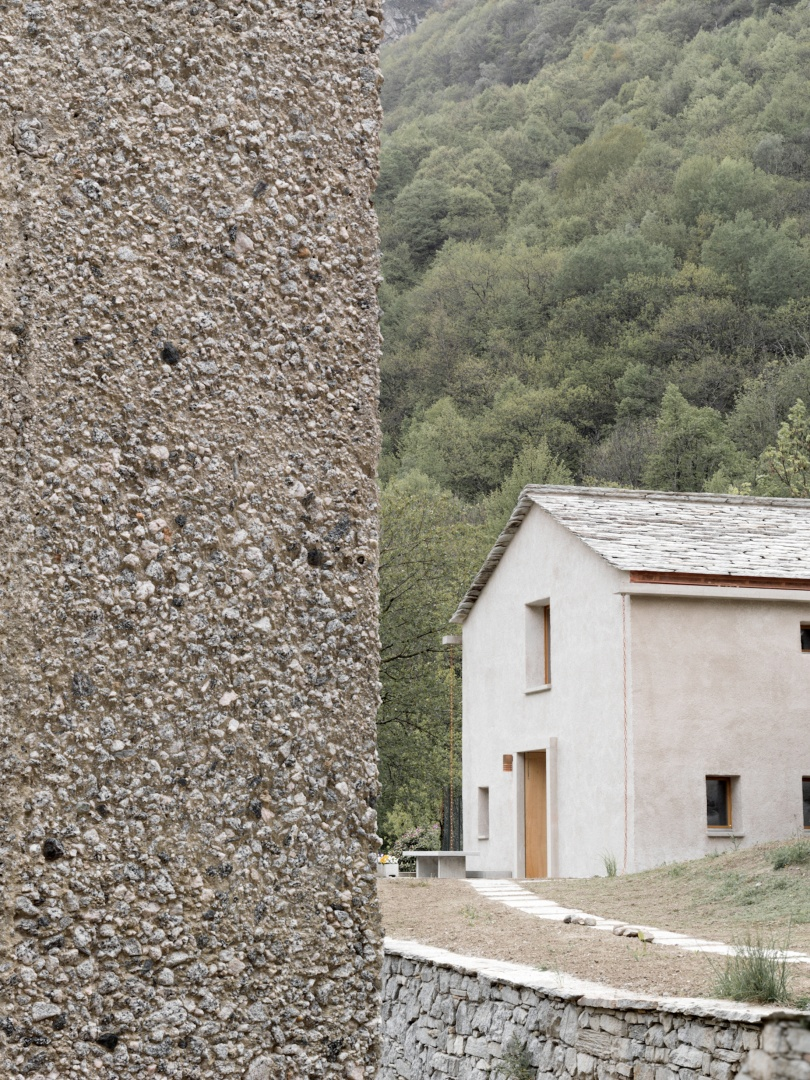 Roccolo_und_Cascina_Garbald © Marcello Mariana, Morbegno - IT