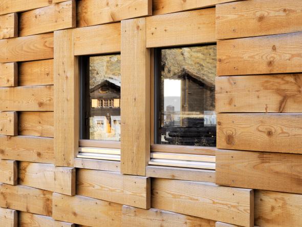Détail fenêtres © Galletti & Matter architectes