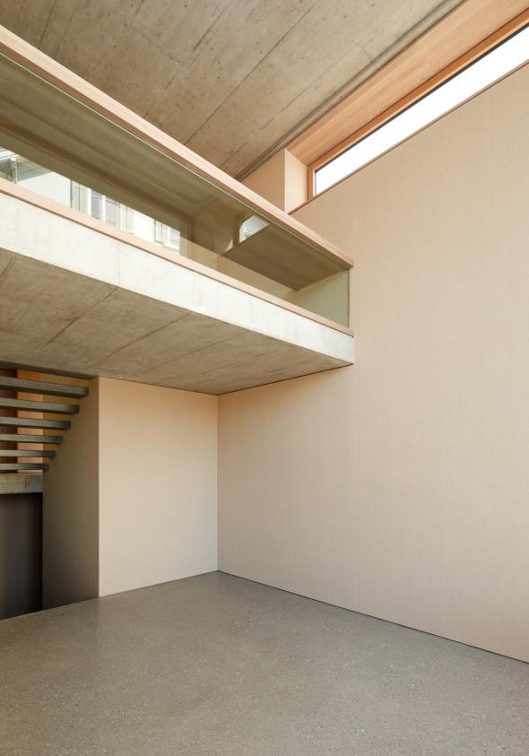 Galerie mit Atelier im UG © Beat Bühler