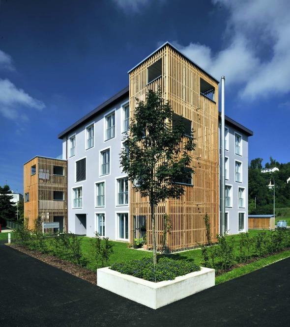 Aussenbereich grüne Zimmer / Bepflanzung © Büchel Neubig Architekten