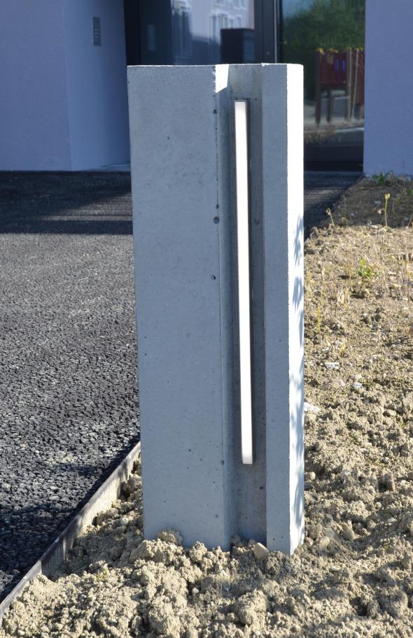 Lichtstele / Lichtkonzept © Büchel Neubig Architekten