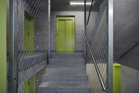 Innenraum Treppenhaus © Büchel Neubig Architekten