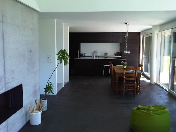 Essbereich / Küche © kaiser & wittwer sa
