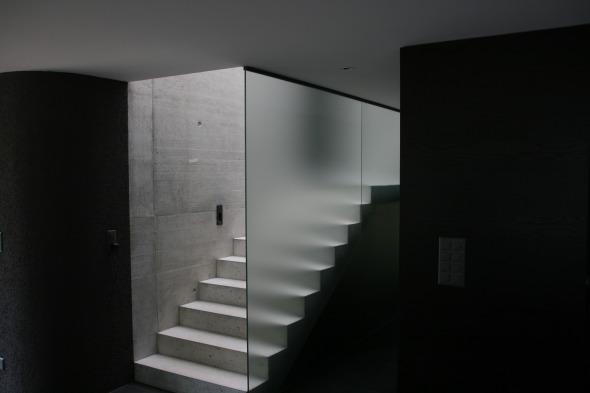 Treppe Erdgeschoss © kaiser & wittwer sa