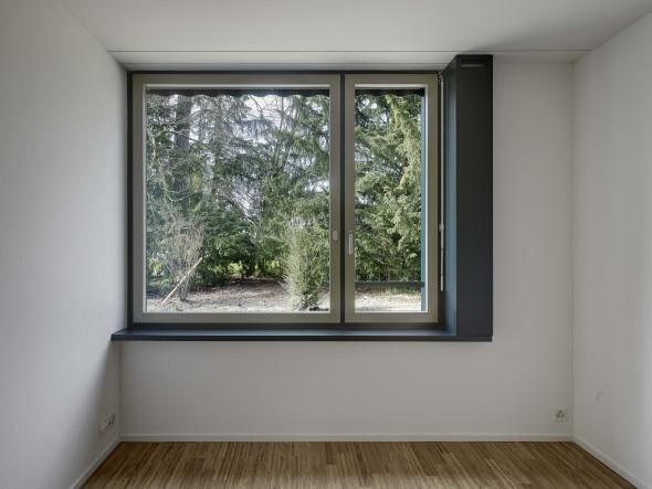 Détail de fenêtre © Roger Frei, Zürich