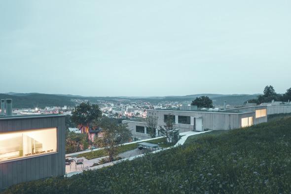 Blick über die Siedlung auf Oberwinterthur © C. Luperto