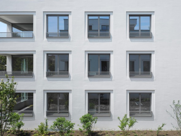 Extrait de façade © Roger Frei, Zürich