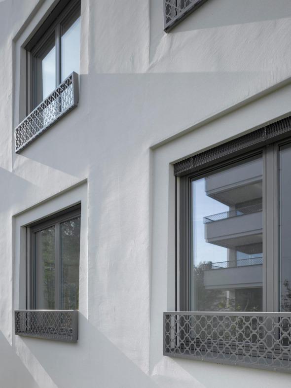 Détail de façade © Roger Frei, Zürich