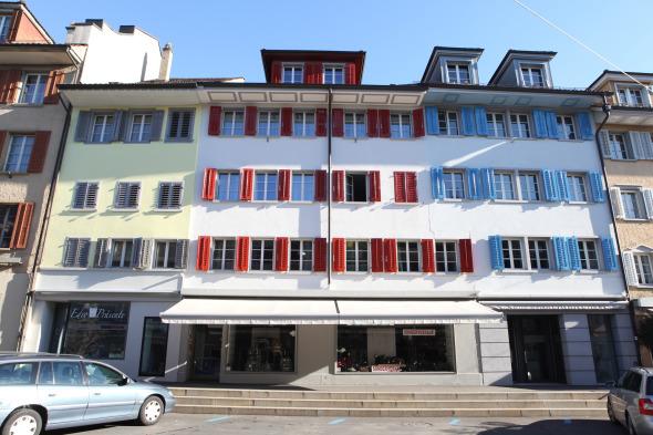 UNIT, Stadthaus Sempach © Marco Sieber