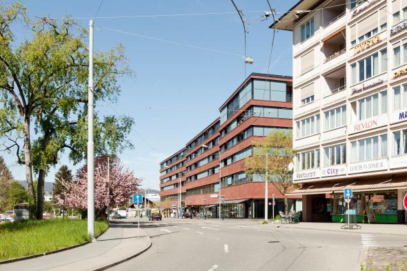 Aussenansicht Ringstrasse © Foto: Beat Bühler