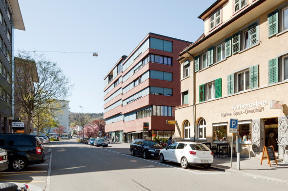 Aussenansicht Bahnhofstrasse © Foto: Beat Bühler
