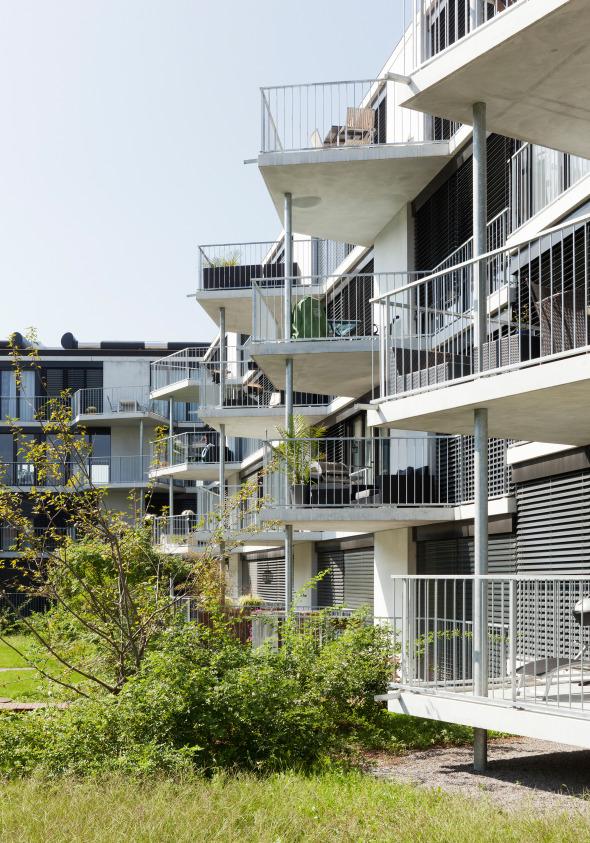 Aussenansicht Innenhof © Foto: Beat Bühler