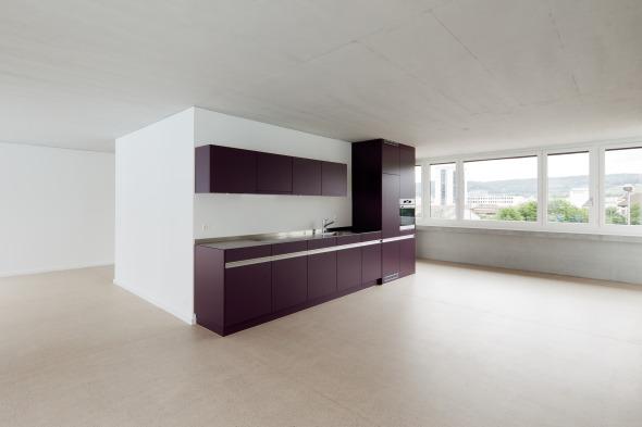 Loftküche © Foto: Beat Bühler
