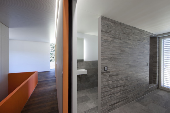 Korridor und WC Foto: Andreas Marbot