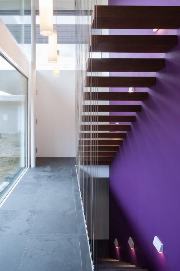 Treppenblick im Eingangsbereich  © Börje Müller-Nolasco, Basel