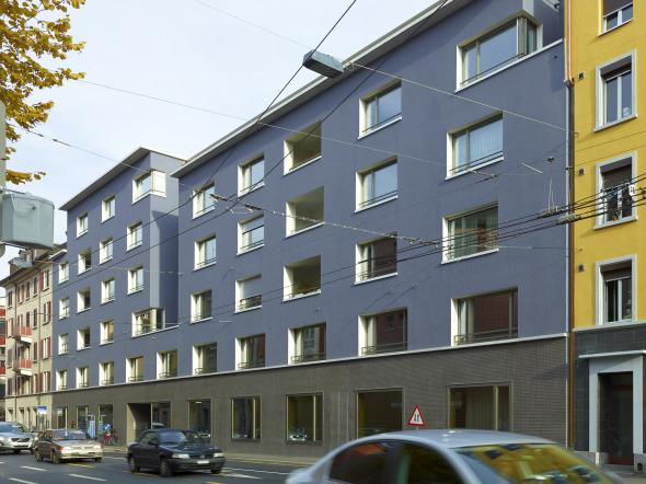 Ansicht Feldstrasse © Foto: Heinrich Helfenstein