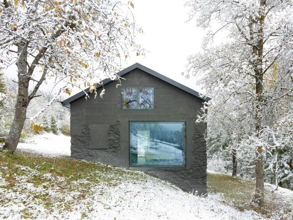 Südwest-Fassade © Thomas Jantscher