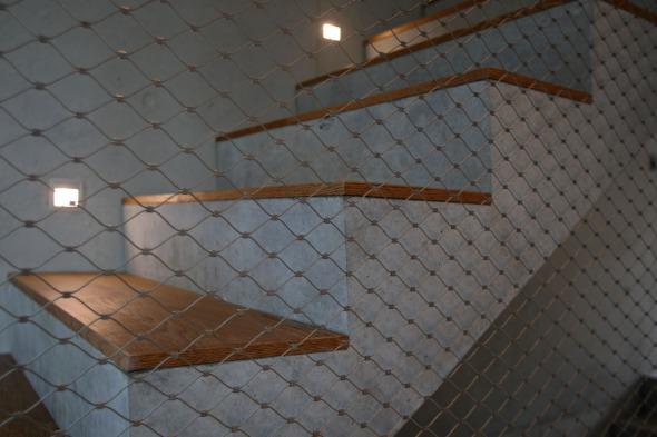 Vue détaillée escalier © od-architektur