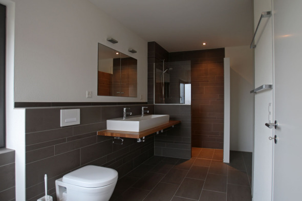 Salle de bain étage supérieur © od-architektur