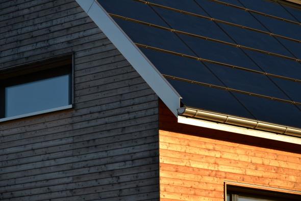 Detail Solardach © dransfeldarchitekten ag
