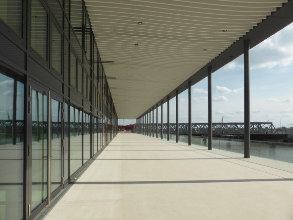 Stadtloggia-Ebene mit Blick Richtung HafenP © BGP