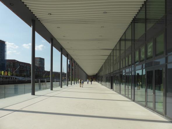 Stadtloggia-Ebene mit Blick Richtung Maritime Museum © BGP
