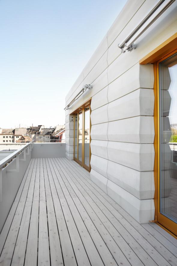 Balkon, Fassadenelemente © Giuseppe Micciché