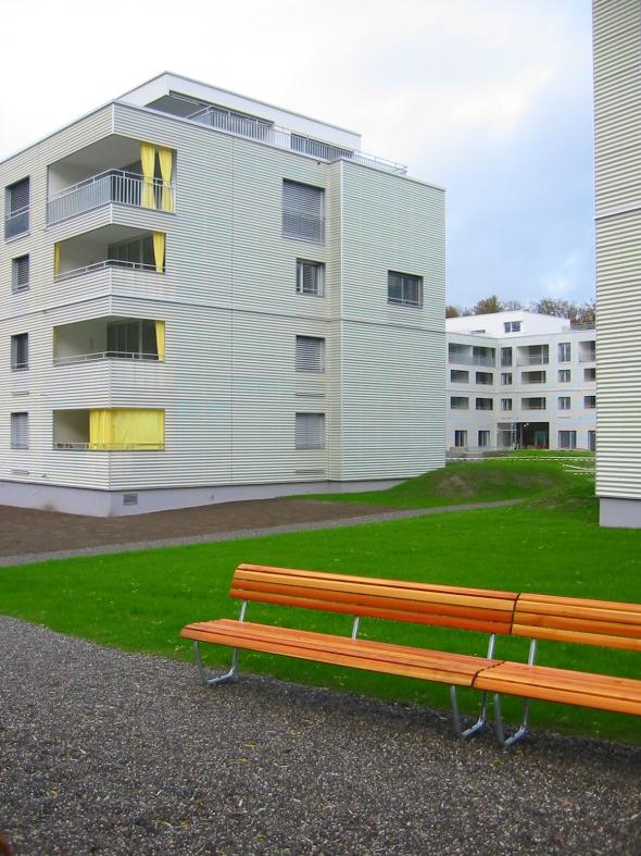 Aperture vers la cour © ARGE Egli Rohr Partner AG/ Peter Saxer Architekten GmbH